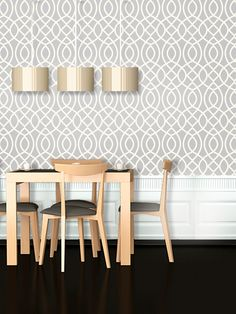 Woven Trellis Peel-and-Stick Wallpaper by Swag Tots at Gilt