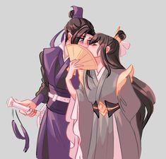 Galeria Yaoi Mo Dao Zu Shi - Nie Huaisang x Jiang Cheng parte 2 Manga Art, Manga Anime, Wattpad, Haikyuu Ships, Cartoon Games, Kawaii, The Grandmaster, My Collection, Cute Gay