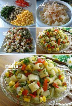 Makarna Salatası #makarnasalatası #salatatarifleri #nefisyemektarifleri #yemektarifleri #tarifsunum #lezzetlitarifler #lezzet #sunum #sunumönemlidir #tarif #yemek #food #yummy