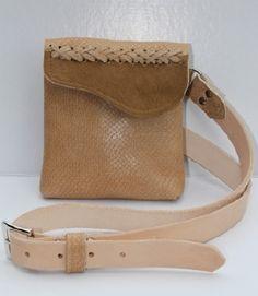 handmade purse leather