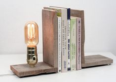 20 Handmade Desk Lamps to Light Up Your Workspace via Brit + Co. http://www.brit.co/desk-lamps/