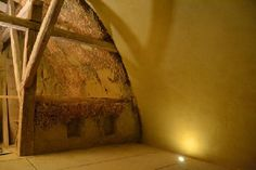 Barn Conversion with Straw Bale Vault, Earth Plaster and Bottle Walls