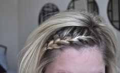 Here is a video on How to French Braid Your Own Hair! featuring: my bangs :) Please comment with any questions or your own success story! :) Close Ups: (pardon my roots. getting a touch up tomorrow...