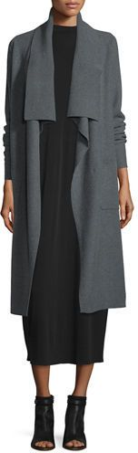 Eileen Fisher Fisher Project Luxe Wool Coat