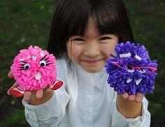 zakka life: Pom-Pom Monster Salon Giveaway