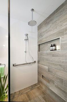 Image result for timber tile on shower wall