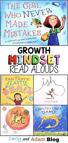 Growth Mindset Read Alouds: The best read alouds to teach and reinforce growth m. - Books - Growth Mindset Read Alouds: The best read alouds to teach and reinforce growth mindset to your stud - Growth Mindset Lessons, Growth Mindset Classroom, Growth Mindset Activities, Growth Mindset For Kids, Social Emotional Learning, Social Skills, Social Work, Read Aloud Books, Leader In Me