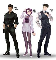 Dc Comics Art, Comics Girls, Marvel Dc Comics, Superboy Young Justice, Robin And Raven, Original Teen Titans, Teen Titans Fanart, Superman X, Dc Characters