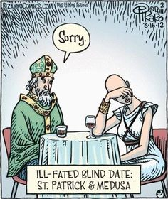 Wee bit of humor to start off your week, from your 5 Go-To Irish spirits!