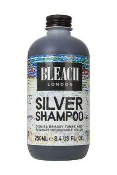 Bleach London Silver Shampoo - i could not live without this! Use this every few washes to keep your blonde hair fresh Bleach London Silver Shampoo, Shampoo For Silver Hair, Best Silver Shampoo, Best Purple Shampoo, Blonde Hair Care, Ashy Blonde, Bleaching Your Hair, Peinados Pin Up, Platinum Blonde