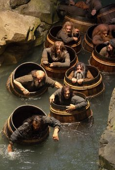 The Hobbit: The Desolation of Smaug>>>>> Bifur: my barrel, nobody touch my barrel, this barrel is mine, not your barrel,my barrel, fuck off Ori