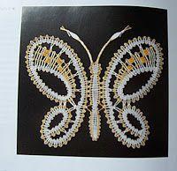 dentelofuso Bobbin Lacemaking, Bobbin Lace Patterns, Lace Design, Butterflies, Crochet, Jewelry, Lace, Earrings, Pendants