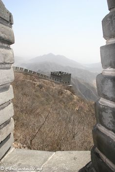 Great Wall of China via christineknight.me China Facts, China Map, Great Wall Of China, Bucket List Destinations, Travel Articles, Cheap Travel, Asia Travel, Travel Photography, Climbing