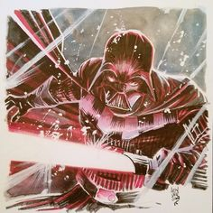 Darth Vader by Mike Henderson