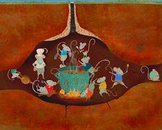 #carriemay #kidscornerillustration #illustration #digital #mixedmedia #character #mice
