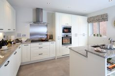 Kitchen - Have you found the keys? click on the pin and enter your details for chance to win on www.redrow40.co.uk Redrow Homes, Kitchen Ideas, Kitchen Design, Roman Blinds, Home Decor Inspiration, Future House, Home Kitchens, House Warming, Competition