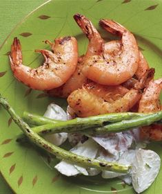 Grilled Shrimp With Lemony Potato Salad recipe