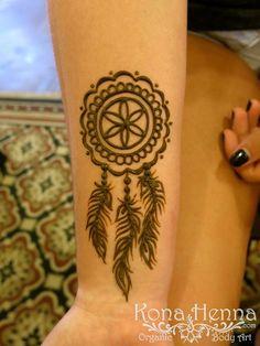 Hena Designs, Henna Designs Easy, Henna Tattoo Designs, Mehndi Designs, Cool Henna, Easy Henna, Simple Henna Tattoo, Dream Catcher Henna, Dream Catcher Tattoo Design