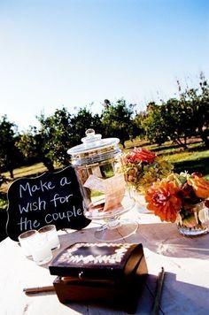 pot à voeux mariage