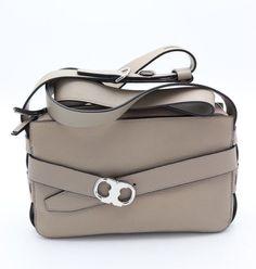 Tory Burch Gemini Link Leather Shoulder Crossbody Bag In Black Ebay