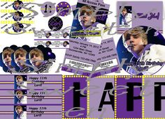 Everything for a Justin Bieber Party!