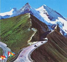 Grossglockner Oostenrijk my dad en mom have this on the wall