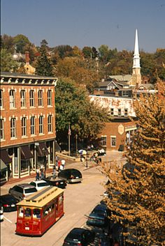 Galena, Illinois.  Became engaged to my husband here :)