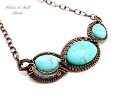 Hey, I found this really awesome Etsy listing at https://www.etsy.com/listing/293422221/wire-wrapped-collar-necklace-copper