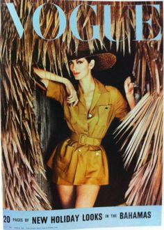 Carmen Dell'Orefice by Norman Parkinson Vogue UK July 1959 Vogue Magazine Covers, Fashion Magazine Cover, Fashion Cover, Vogue Covers, Carmen Dell'orefice, Vintage Vogue, Mode Vintage, Vintage Style, 1950s Style