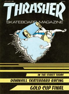 Thrasher #1 — January 1981