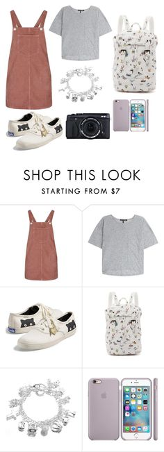 """Outfit of the zoo!"" by pukaaaw ❤ liked on Polyvore featuring Topshop, rag & bone, Keds and Paul & Joe Sister"