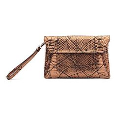 Clutch Shops, Envelope Clutch, Slip On Sneakers, Fall Winter, High Heels, Bronze, Womens Fashion, Bags, Collection