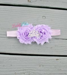 Baby Girl Tiara Headband by Lovely Lilies Boutique