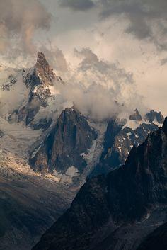 Dent du Géant, Les Alpes