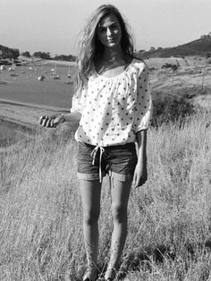 a7a47568be88d adorable Marina Helms Blouse with loose denim shorts by quiksilver women   lt 3 http