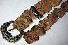 A belt made of human nipples from a serial killer- ThorGift.com - If you like it please buy some from ThorGift.com Natural Born Killers, Killer Body, Human Body Parts, Evil People, Psychopath, Serial Killers, True Crime, Just In Case, Weird