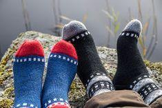AnniKainen puikoissa: Hiljuska-sukat