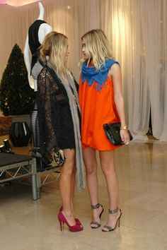 are these the twins olsen? #fashion #olsen
