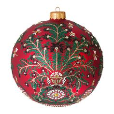 Discover the Jay Strongwater Eclectic Artisan Tree Decoration - Siam at Amara