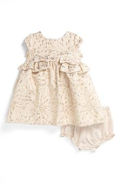Pippa & Julie Brocade Dress (Baby Girls) | Nordstrom