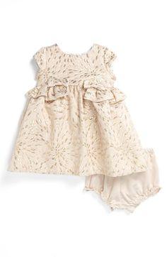Pippa & Julie Brocade Dress (Baby Girls)   Nordstrom