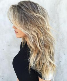 50 NEW Long Hairstyles with Layers for 2020 - Hair Adviser 50 Lovely Layered Haircuts for Long Hair Blonde Layered Hair, Haircuts For Long Hair With Layers, Layered Haircuts With Bangs, Haircuts For Wavy Hair, Haircut For Thick Hair, Ash Blonde, Thin Hair With Layers, Hair Layers Medium, Layered Long Hair