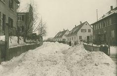 Heilbronn in the 1950s when we still had snow