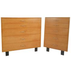 George Nelson/Herman Miller Mid Century Modern Dressers | From a unique collection of antique and modern dressers at https://www.1stdibs.com/furniture/storage-case-pieces/dressers/