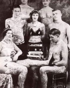 Ink old school.. Vintage tattoos #tattoo #skinked