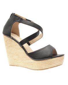 chaussures femme | Accueil > Chaussures femme Style Shoes: Escarpins compensés noirs