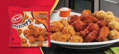 Tyson Chicken Anything Tyson Chicken, Tyson Foods, Christian Images, Party Snacks, Chicken Wings, Snack Recipes, Meat, Ethnic Recipes, Snack Mix Recipes