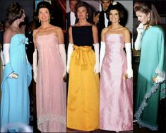 Jackie Kennedy, First Lady Portraits, Strapless Dress Formal, Formal Dresses, American Presidents, Family Events, Luxury, Fashion, Vestidos
