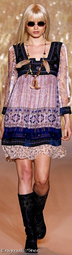 Anna Sui Spring Summer 2011 Ready-To-Wear