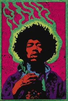 jimmie - Black light poster.  I had this exact poster on my wall in the 70's.